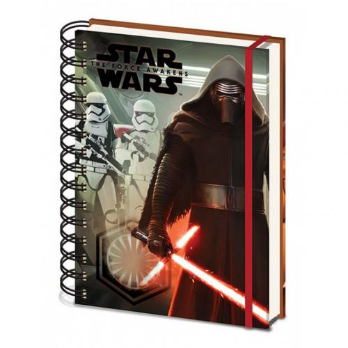 Star Wars The Force Awakens A5 Notebook