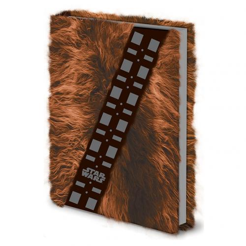 Star Wars Premium A5 Notebook Chewbacca