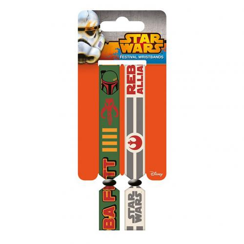 Star Wars Festival Wristbands Rebellion