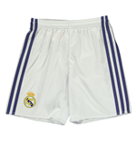 2016-2017 Real Madrid Adidas Home Shorts (White) - Kids