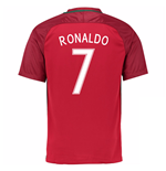2016-17 Portugal Home Shirt (Ronaldo 7)