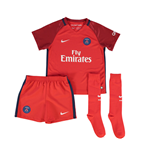 2016-2017 PSG Away Nike Little Boys Mini Kit