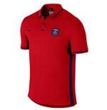 2016-2017 PSG Nike Authentic League Polo Shirt (Red)