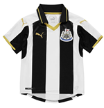 2016-2017 Newcastle Home Football Shirt (Kids)