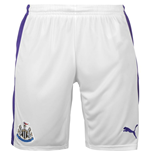 2016-2017 Newcastle Third Football Shorts (White)