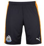 2016-2017 Newcastle Away Football Shorts (Navy)