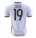 2016-2017 Germany Home Shirt (Gotze 19) - Kids