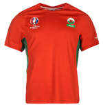Wales UEFA Euro 2016 Poly Training Tee (Red)