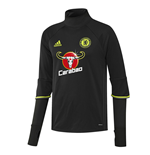 2016-2017 Chelsea Adidas Training Top (Black)