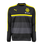 2016-2017 Borussia Dortmund Puma Sweat Top (Black) - Kids