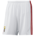 2016-2017 Benfica Adidas Home Shorts (White)