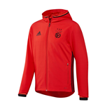2016-2017 Benfica Adidas Presentation Jacket (Red)