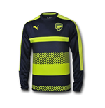 2016-2017 Arsenal Puma Training Sweat Top (Peacot) - Kids