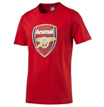 2016-2017 Arsenal Puma Big Crest Fan Tee (Red)