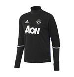 2016-2017 Man Utd Adidas Training Top (Black)