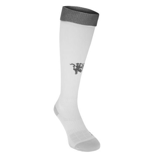 2016-2017 Man Utd Adidas Third Socks (White)