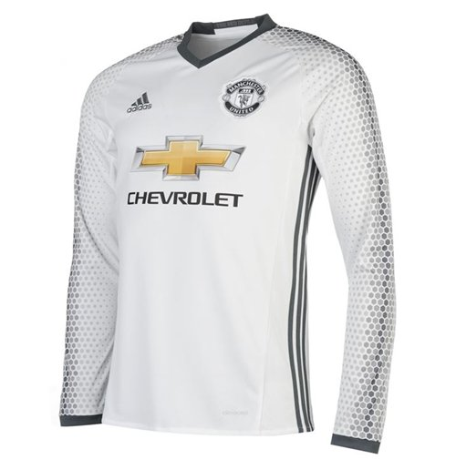 7c27df6a4 Buy Official 2016-2017 Man Utd Adidas Third Long Sleeve Shirt (Kids)