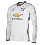 2016-2017 Man Utd Adidas Third Long Sleeve Shirt