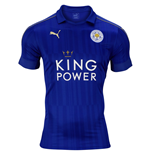 2016-2017 Leicester City Puma Home Football Shirt
