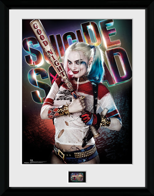 Suicide Squad Harley Quinn Good Framed Collector Print