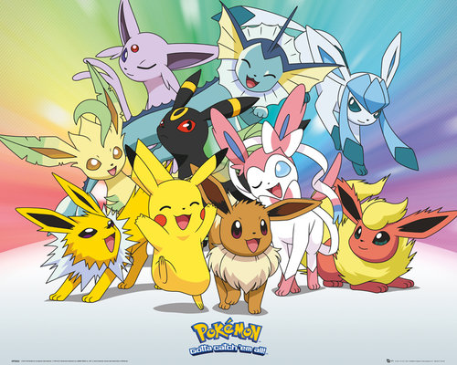 Pokemon Eevee And Friends Images