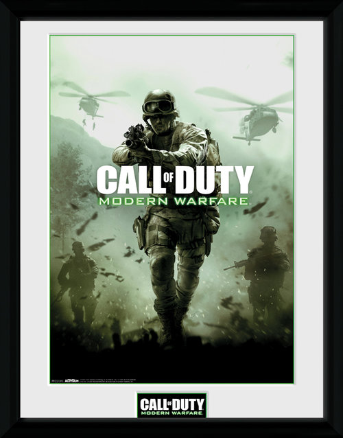 Call of Duty Modern Warfare Key Art Framed Collector Print