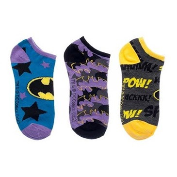 BATMAN Women's Sock 3 Pack