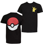 POKEMON Pikachu Pokeball Tee Shirt