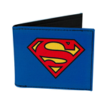 SUPERMAN Comic Logo Bifold Wallet