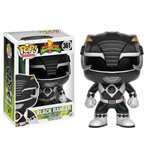 Power Rangers POP! Television Vinyl Figure Black Ranger 9 cm