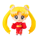 Sailor Moon Petit Chara Pretty Soldier Mini Figure Usagi Tsukino Yukata Ver. 10 cm