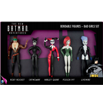 The New Batman Adventures Bendable Figures 5-Pack Bad Girls 14 cm
