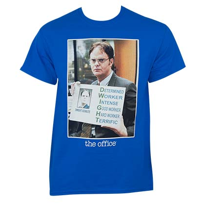 The Office Dwight Blue Tee Shirt