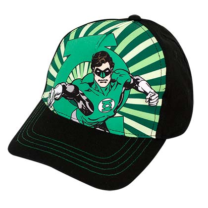 GREEN LANTERN Curved Bill Hat