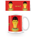 Star Trek 50th Anniversary Mug Beaming Spock