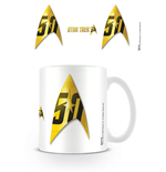 Star Trek 50th Anniversary Mug Insignia