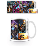 Guardians of the Galaxy Mug Comic