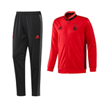 2016-2017 Benfica Adidas PES Tracksuit (Red)