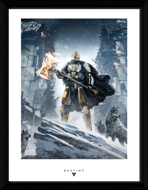 Destiny Rise Of Iron Framed Collector Print