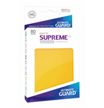 Ultimate Guard Supreme UX Sleeves Standard atte Yellow (80)
