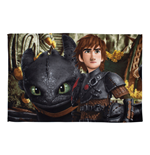 How to Train Your Dragon Fleece Blanket Mountain 100 x 150 cm