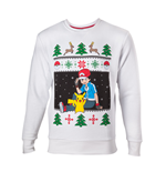 Pokemon Sweater Ash & Pikachu Christmas