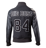 METAL GEAR SOLID V The Phantom Pain Men's Diamond Dogs 1984 Big Boss Varsity Jacket, Medium, Black