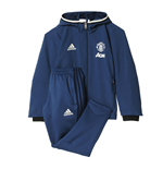 2016-2017 Man Utd Adidas Mini Presentation Tracksuit (Blue) - Infants