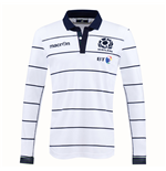 2016-2017 Scotland Alternate LS Cotton Rugby Shirt