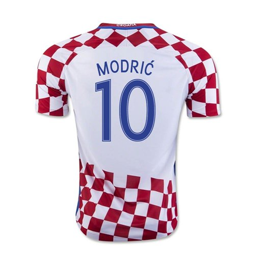 competitive price a1414 0ccc8 2016-17 Croatia Home Shirt (Modric 10)