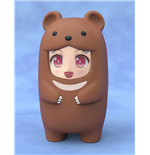 Nendoroid More Face Parts Case for Nendoroid Figures Brown Bear