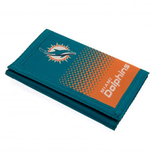 Miami Dolphins Nylon Wallet