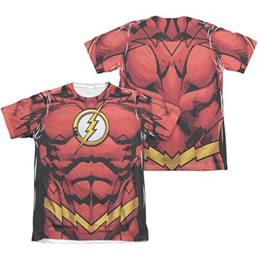 The FLASH Muscle Two-Sided Costume Sublimation T-Shirt