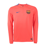 2016-2017 Barcelona Nike Drill Training Top (Crimson)